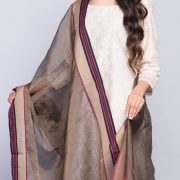 Silk Cotton Maheshwari Diamond Zari Dupatta