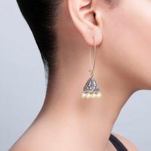 Metal Amna EM 2858 Jhumka Earrings