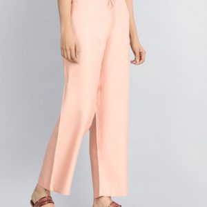 Tussar Cotton Drawstring Elasticated Waist Pant