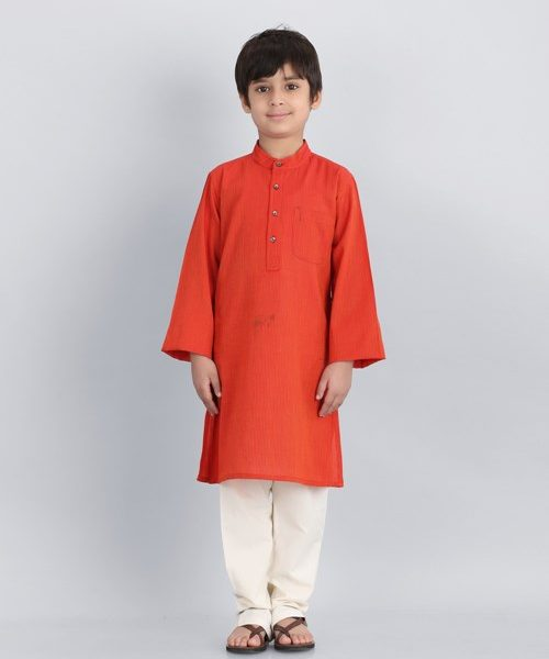 Cotton Dobby Long Kurta