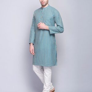 Cotton Surbhi Dobby Long Kurta