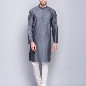 Tussar Viscose Long Kurta