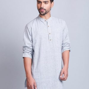Cotton Surbhi Dobby Short Kurta