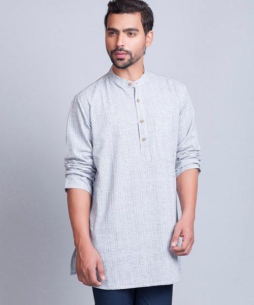 Cotton Surbhi Dobby Short Kurta