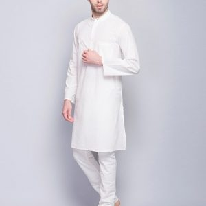 Cotton Khari Printed Long Kurta
