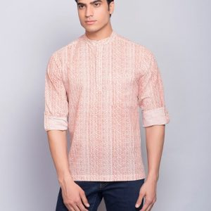 Cotton Cambric Printed Super Short Kurta
