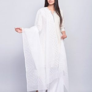 Cotton Silk Kota Chandra Printed Dupatta