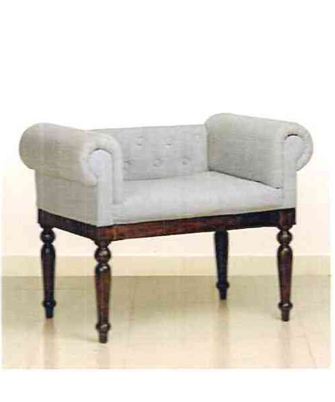 Accent Low Back Chair With Ottoman: Upholstered Accent Chair Low Back
