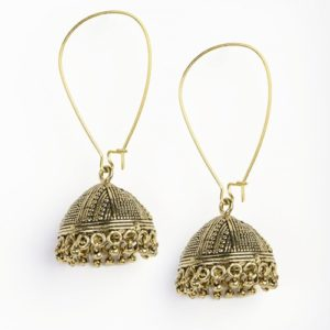 Metal Anusuya EM 334 Jhumka Earrings