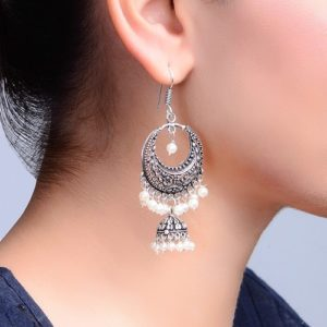 Metal Amna EM 2016 Jhumka Earrings