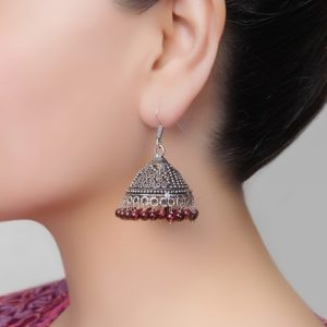 Metal Amna EM 2614 Dangle Earrings