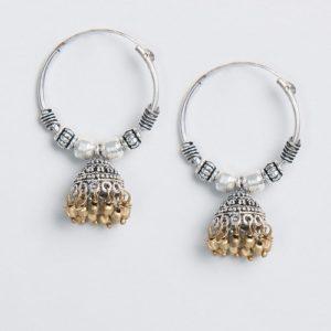 Metal Amna EM 2859 Jhumka Earrings