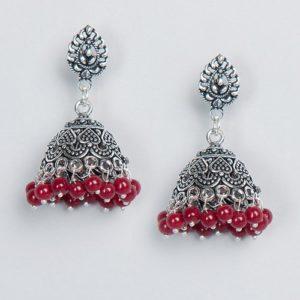 Metal Amna EGS 3765 Jhumka Earrings