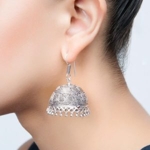Metal Amna EGS 3436 Jhumka Earrings