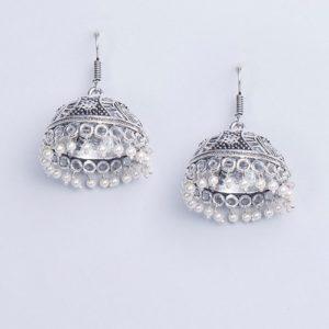 Metal Amna EGS 3803 Jhumka Earrings