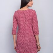 Cotton Printed Top Stitch Tunic