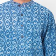 Cotton Cambric Printed Short Kurta