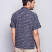 Cotton Ajrak Printed Super Short Kurta