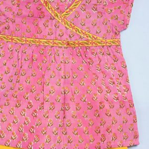Cotton Printed Cross Over Salwar Set